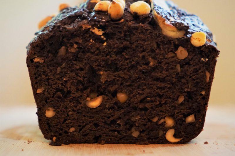 Healthy-ish Chocolate Peanut Butter Banana Bread Recipe