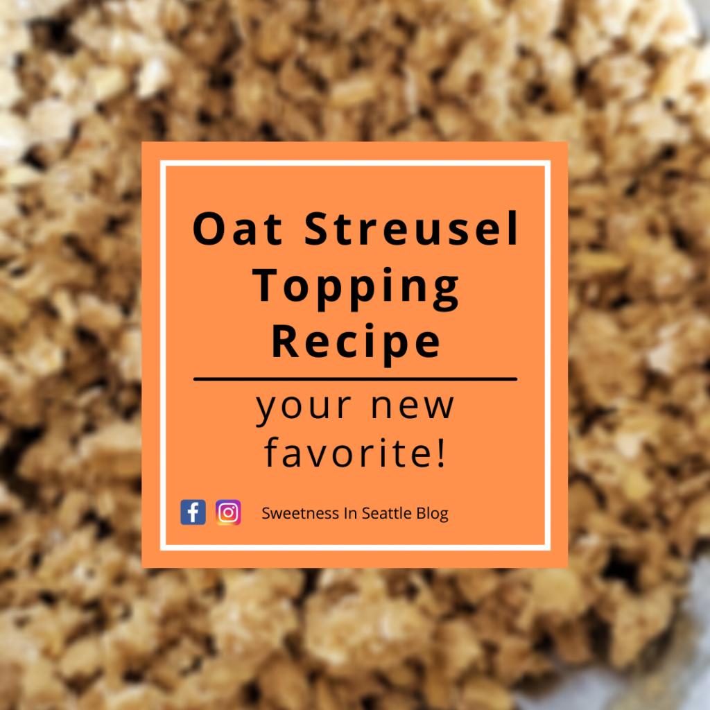 Oat Streusel Topping Recipe