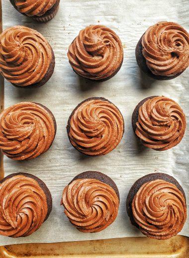 Chocolate buttermilk cupcake recipe