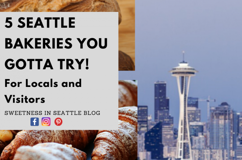 5 Bakeries you gotta try in Seattle